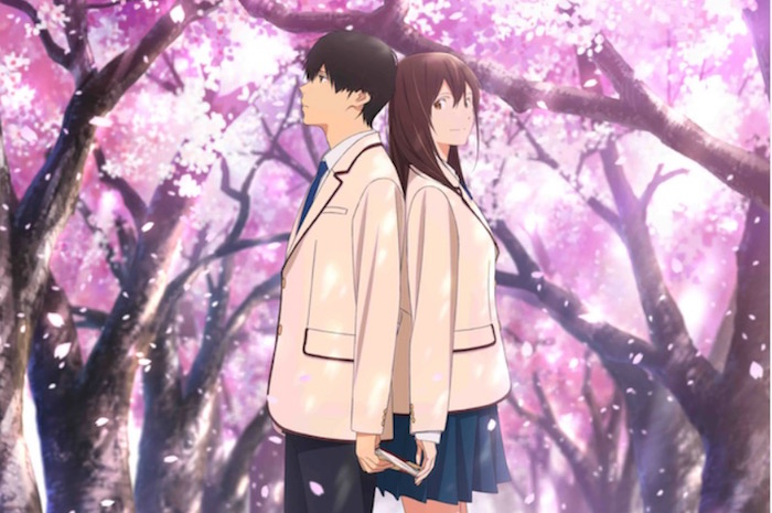 I want to eat your pancreas Anime Film Has a Date with U.S. Theaters