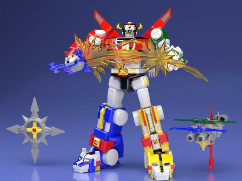 Form Up in Style With Voltron Super Mini-Pla Kit