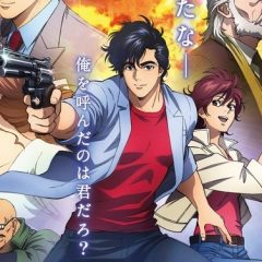 2019 City Hunter Anime Film Gets Title, New Cast Members