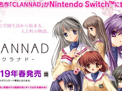 Clannad Switch Release Gets English Support