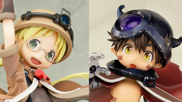 Riko and Reg from Made in Abyss Get New Figures