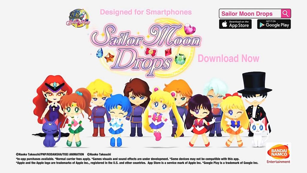 Sailor Moon Drops Mobile Puzzle Game to End Service, Fans Start Petition