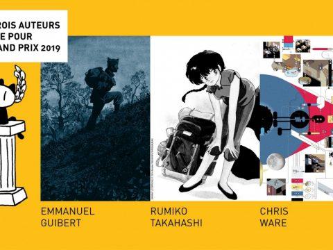 Rumiko Takahashi in Running for Prestigious French Comics Award