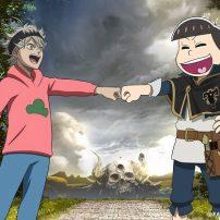 Mr. Osomatsu Crosses Over into the World of Black Clover Anime
