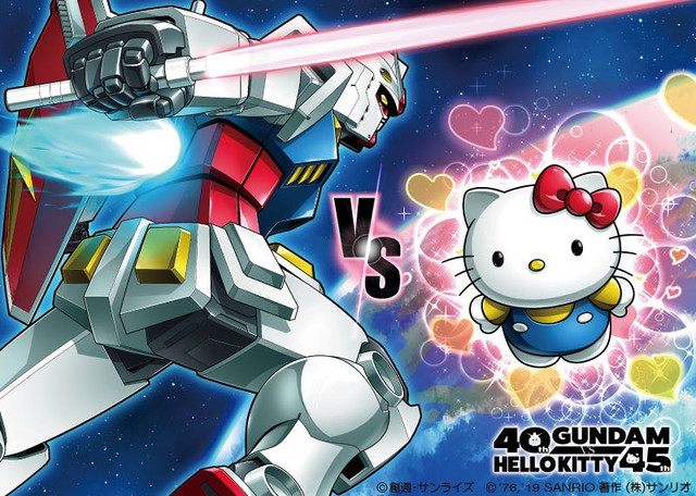 Gundam vs. Hello Kitty is Now a Real Battle Thanks to New Collab