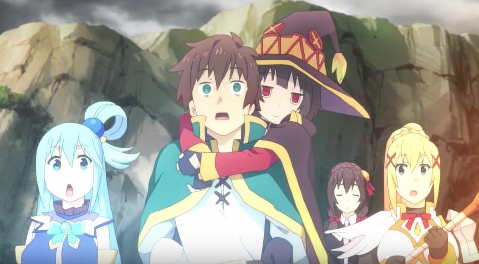 KONOSUBA Anime Film Prepares for the Big Screen in New Trailer
