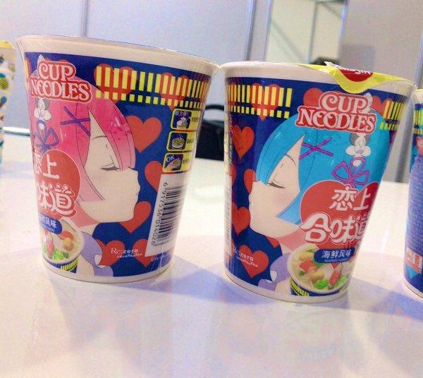 Re:zero cup noodles