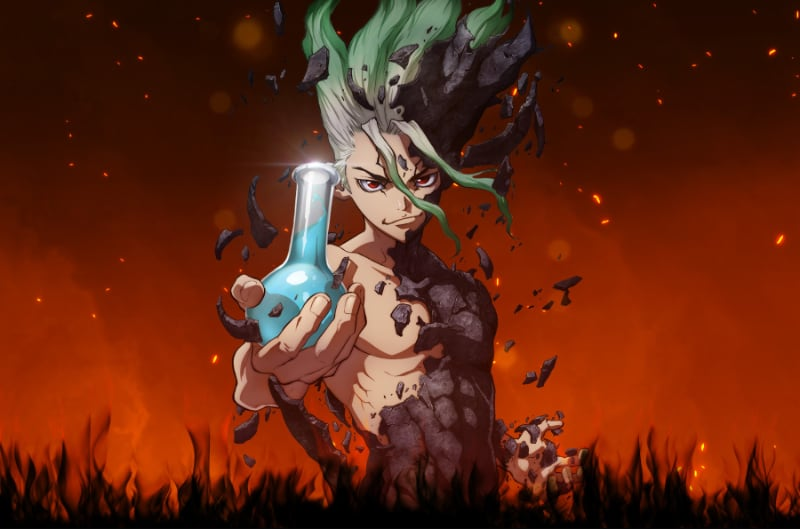 New Dr. Stone Opening, Ending Themes Teased
