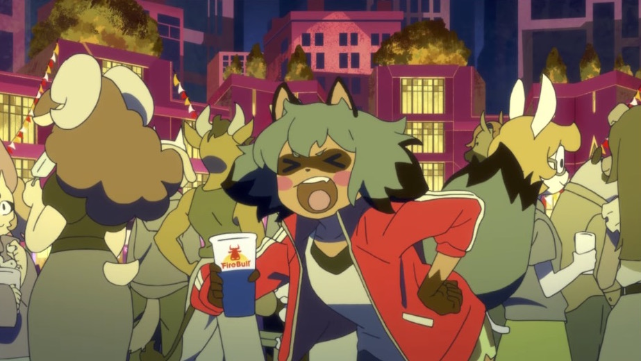 Trigger's BNA Anime Trailer Introduces Some Party Animals