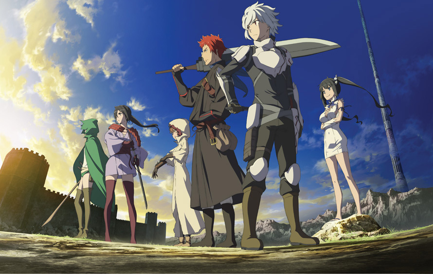 Is It Wrong to Try to Pick Up Girls in a Dungeon? II anime