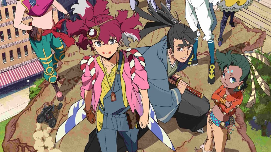 Original Anime Appare-Ranman! Races Onto Screens April 10