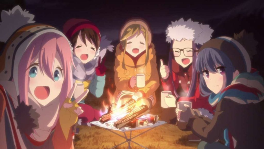 Laid-Back Camp Season 2 Gears Up for January 2021 Debut