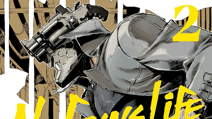 No Guns Life [Manga Review]