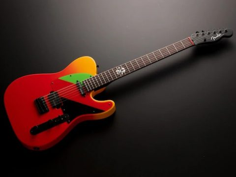 Asuka Joins Your Band Thanks to Evangelion Fender Telecaster