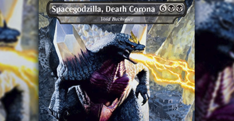 Godzilla Magic Card Name Changed, Too Close to Coronavirus for Comfort
