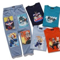 My Hero Academia Lands New T-Shirts, Jeans from XLARGE