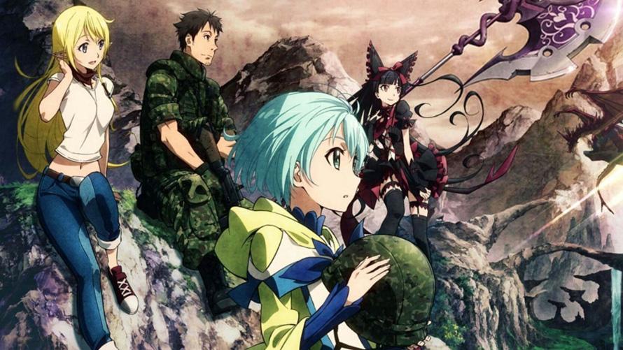 isekai anime: Gate