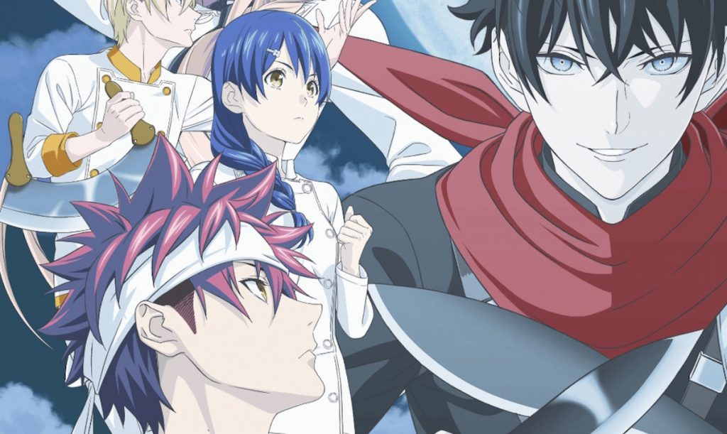 Food Wars! The Fifth Plate Anime Returns on July 3