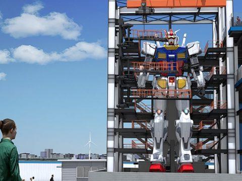 COVID-19 Delays Moving Gundam Statue's Debut