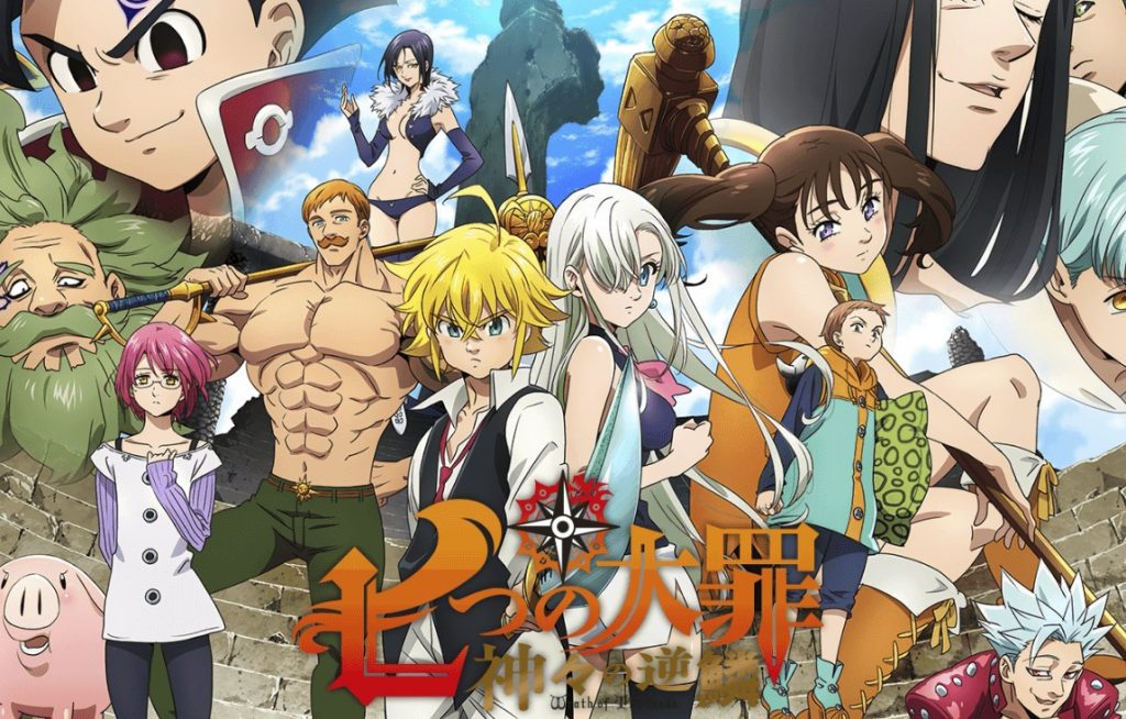 New The Seven Deadly Sins Anime Hit with COVID-19 Delay