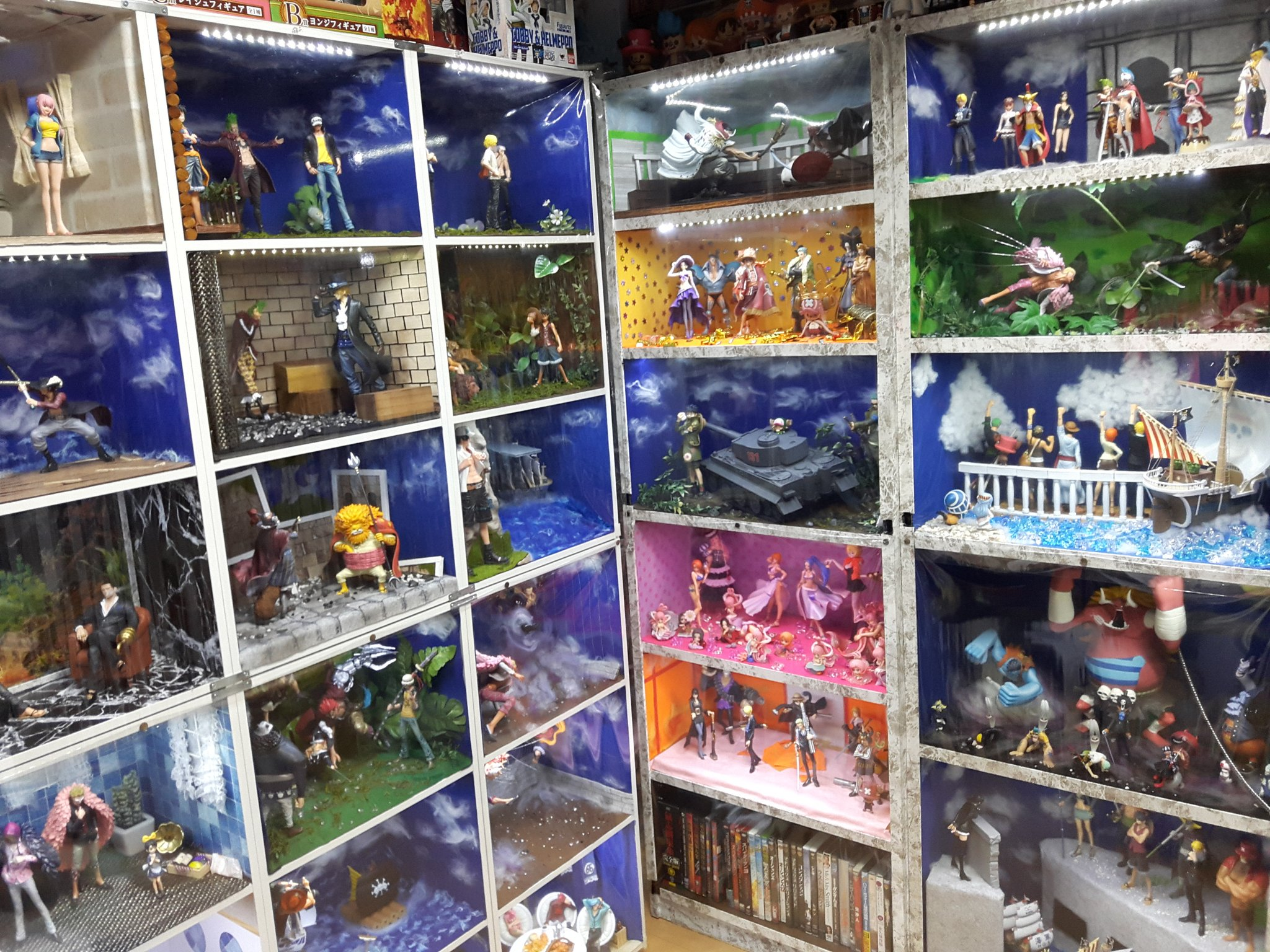 One Piece Fan Recreates Iconic Scenes at Home with Diorama