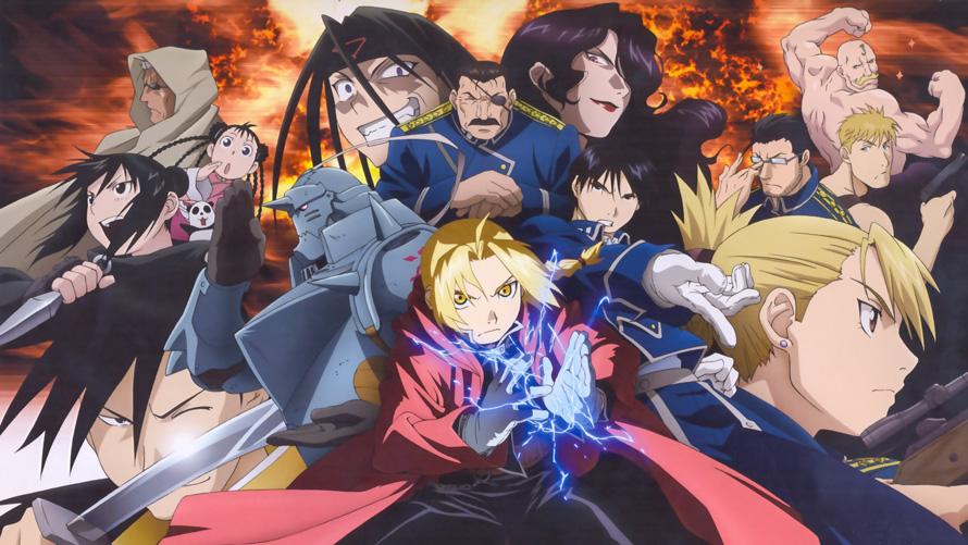 5) Fullmetal Alchemist