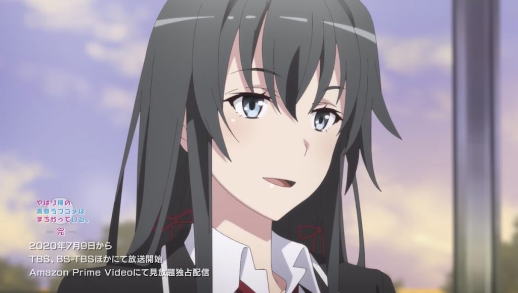 My Teen Romantic Comedy SNAFU Season 3 Teases Yukinoshita