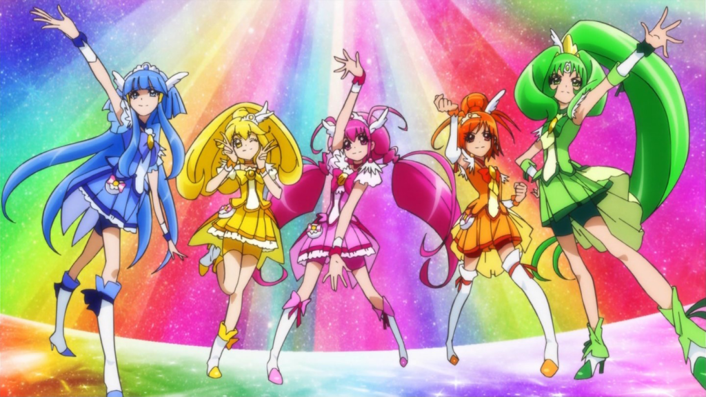 The girls of Smile PreCure