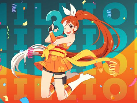 Crunchyroll Now Boasts More Than 3 Million Subscribers