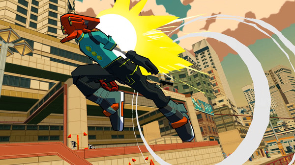 Bomb Rush Cyberfunk Gives Us Serious Jet Set Radio Vibes