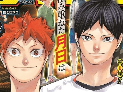 Haruichi Furudate's Haikyu!! Manga to End on July 20