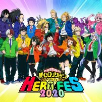 Colorful Visual Arrives for My Hero Academia HERO FES 2020