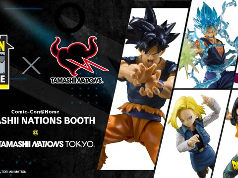 Dragon Ball Super and Godzilla Shine in Event Exclusive Color Figures