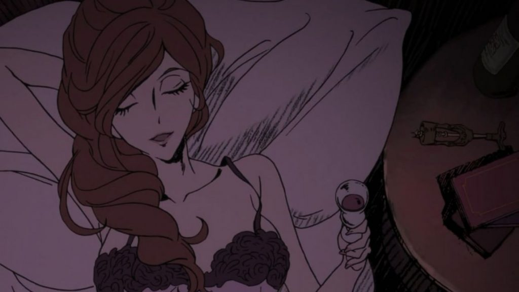 Classic anime girl Fujiko Mine is the lady we all wanna be
