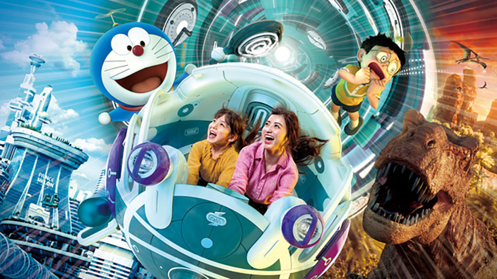 Theme park fans will have to go to Universal Studios Japan for this Doraemon experience