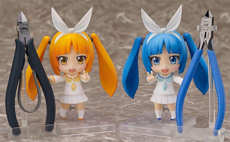 Two Nendoroid Nipako variants