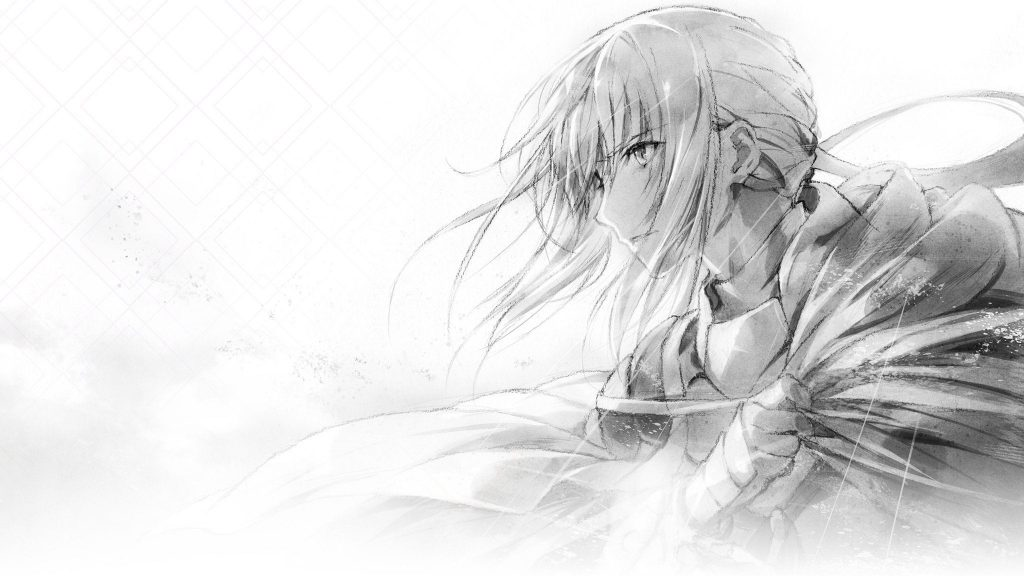 Sir Bedivere, as seen in Fate/Grand Order