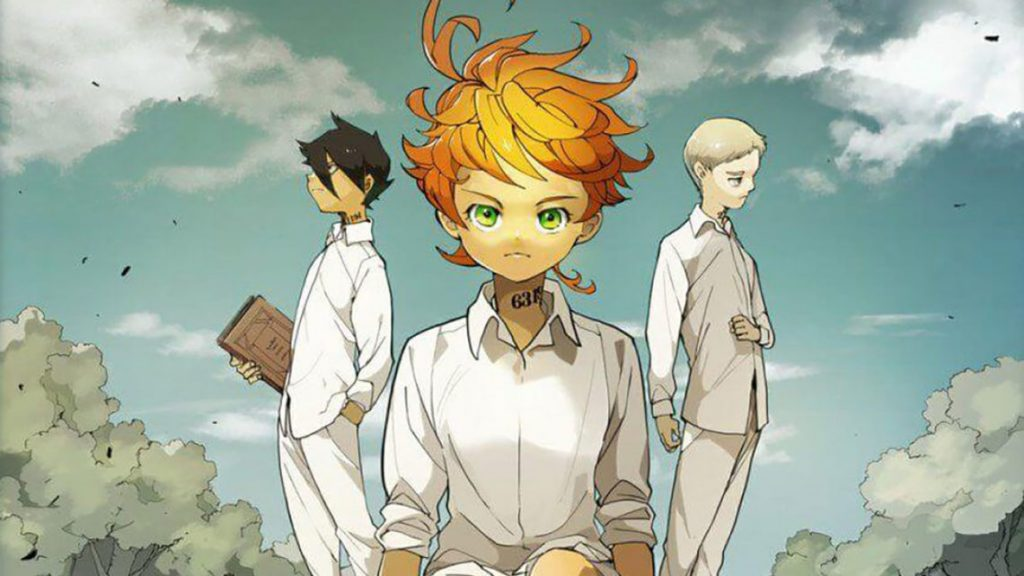 The cast of The Promised Neverland