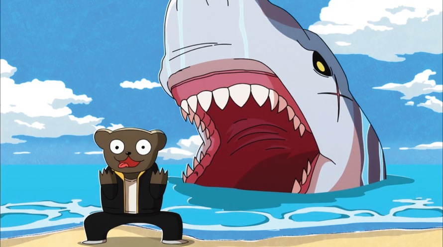 Africa Salaryman anime