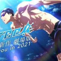 Kyoto Animation is Back with More Free! Anime in 2021 Movie