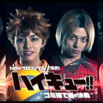 The Dumpster Battle Begins in Haikyu!! Stage Play Key Visual