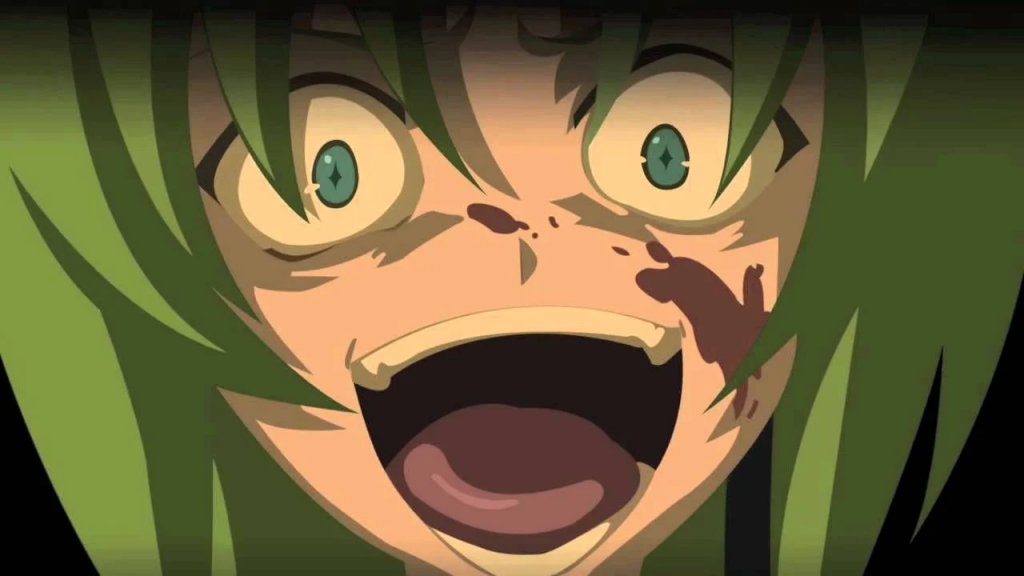 It's not a real Higurashi article without that one screencap.