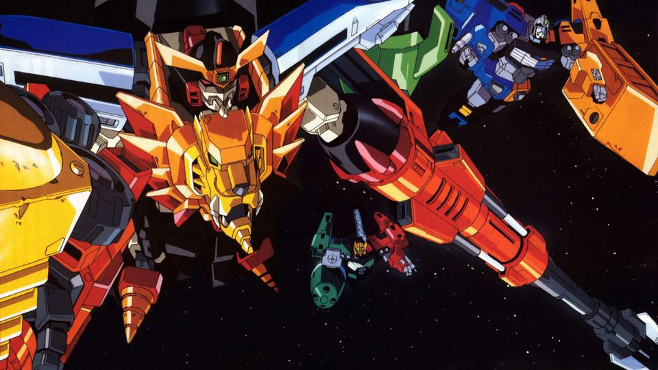 The title robot of GaoGaiGar