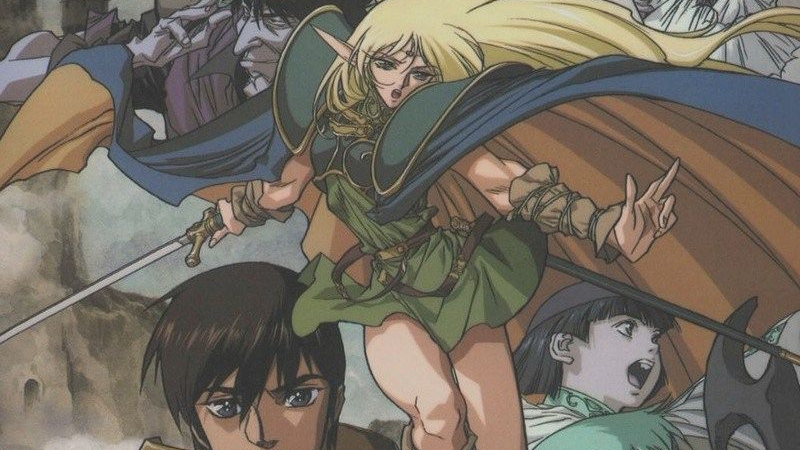 Record of Lodoss War, the literal D&D anime