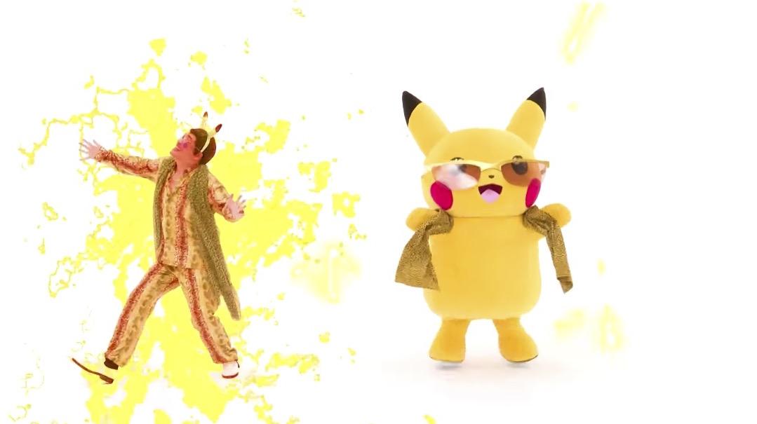 pikotaro and pikachu