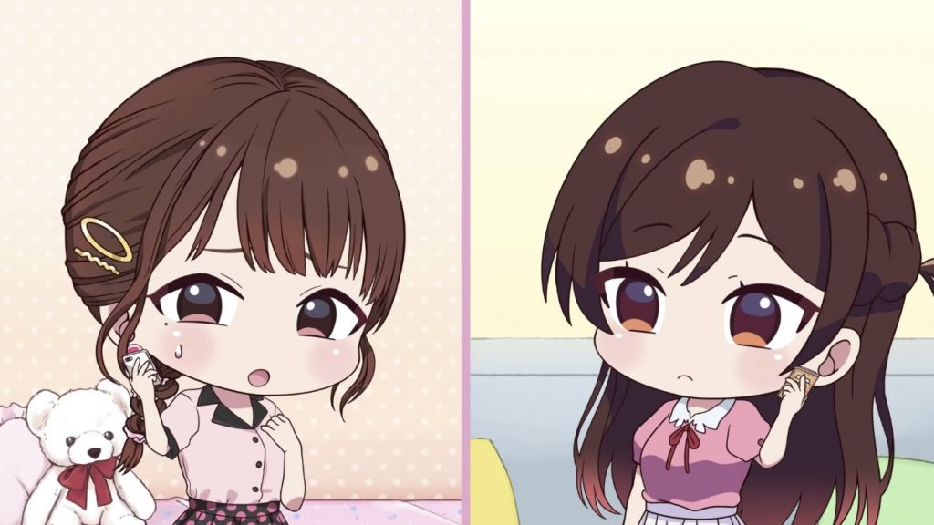 Rent-a-Girlfriend Teams with halca for Cute Chibi-Style Short
