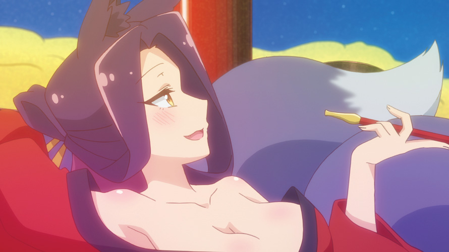 The Helpful Fox Senko-san anime