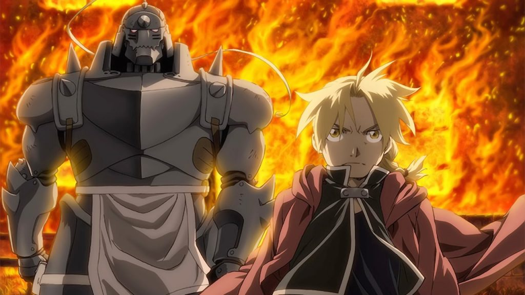 Edward and Alphonse Elric of Fullmetal Alchemist