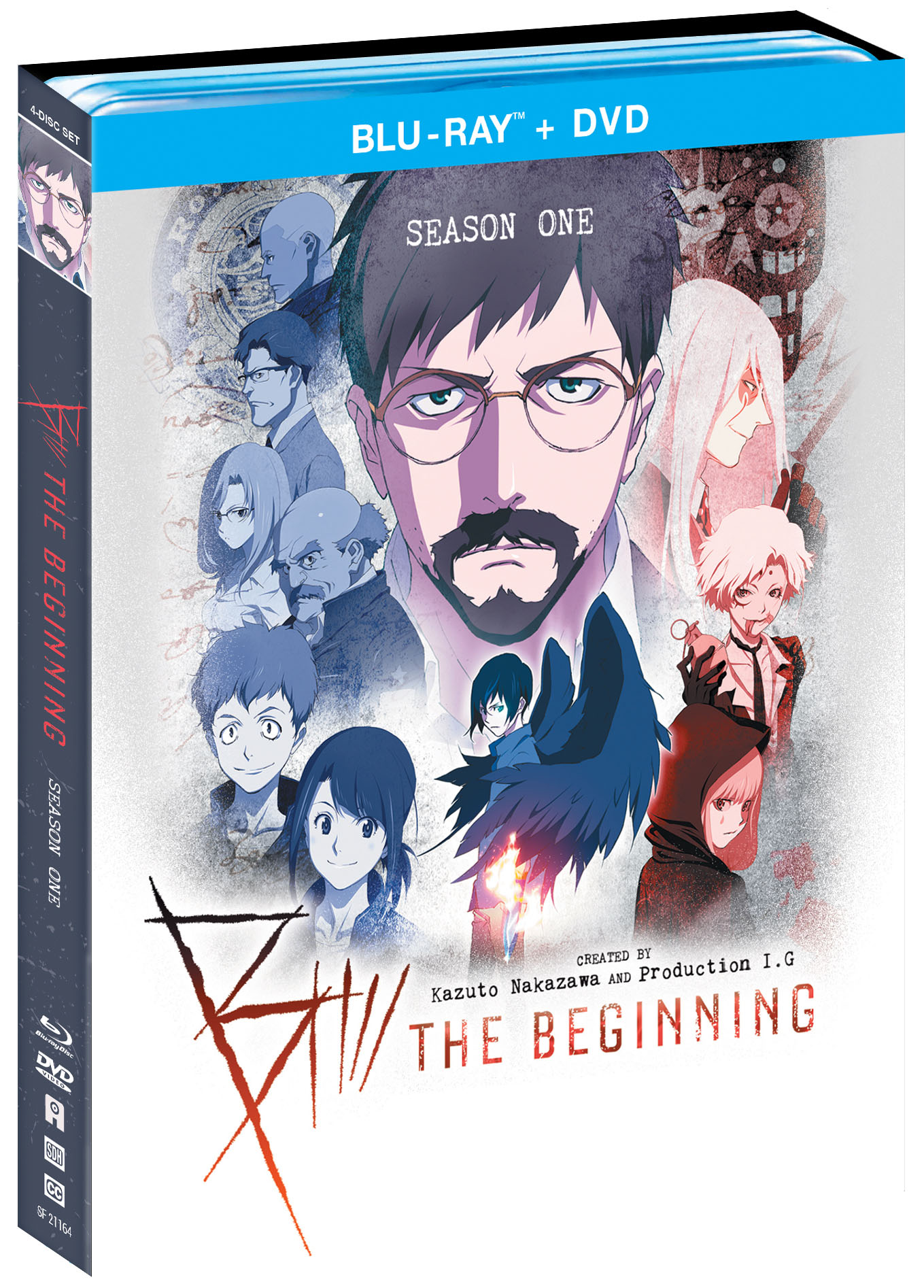 b: the beginning anime