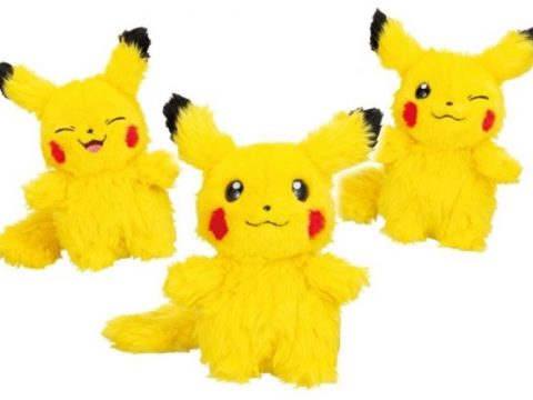 Who Are You? Toys Reveal Adorable Fluffball Pikachus